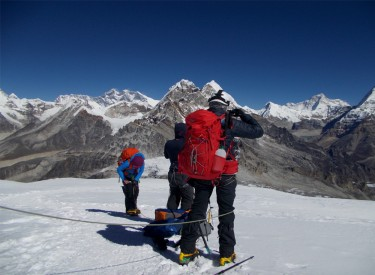 Mera and Island Peak Climbing with Amphu Lapcha Trek